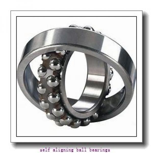 40 mm x 90 mm x 23 mm  SKF 1308 ETN9  Self Aligning Ball Bearings #1 image