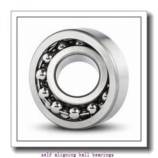 70 mm x 125 mm x 24 mm  SKF 1214 ETN9  Self Aligning Ball Bearings #2 image