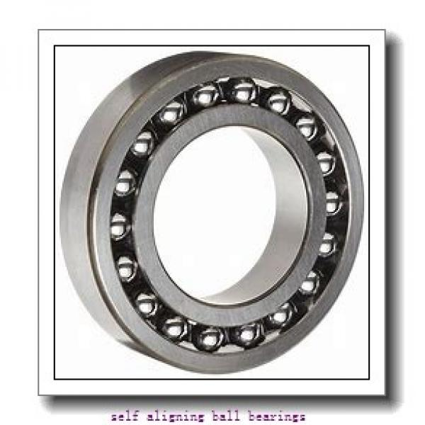 70 mm x 125 mm x 24 mm  SKF 1214 ETN9  Self Aligning Ball Bearings #1 image